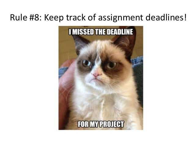Should I tell my parents I missed an assignment deadline....?