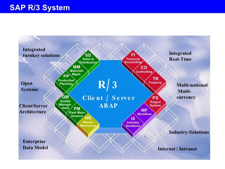 Sap overview 1 1 for Sap r 3 architecture