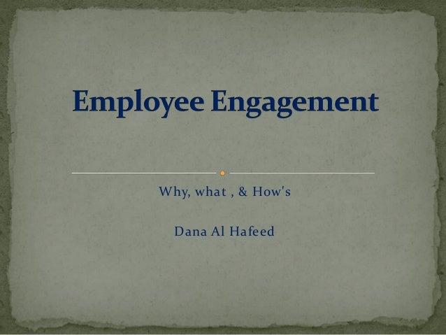 Why, what , & How's Dana Al Hafeed