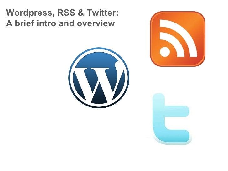 Day2 wordpress-rss