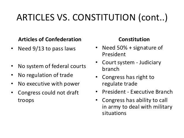 essay on constitutions
