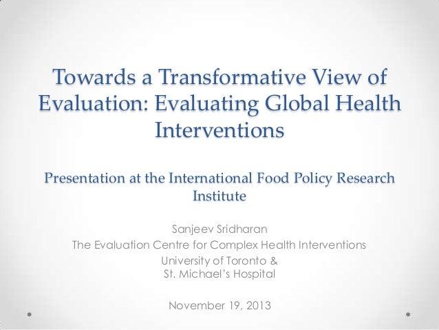 PPWNov13- Day 2 keynote- S.Sridharan- U Toronto