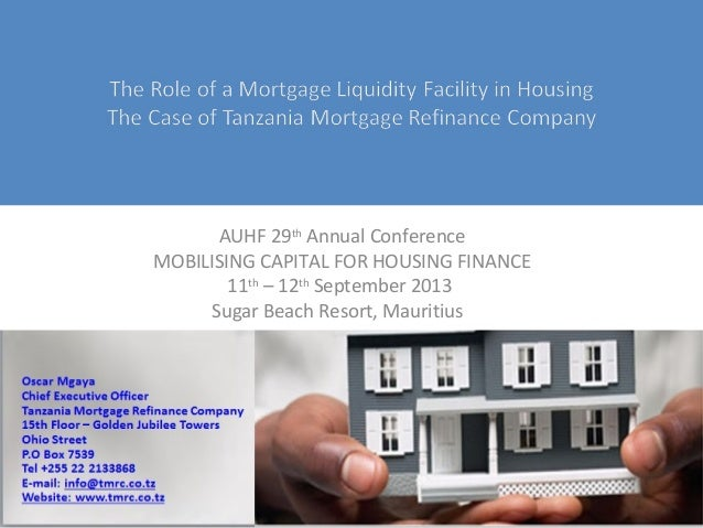 African Union for Housing Finance Conference: How have liquidity facilities helped access to local capital market?