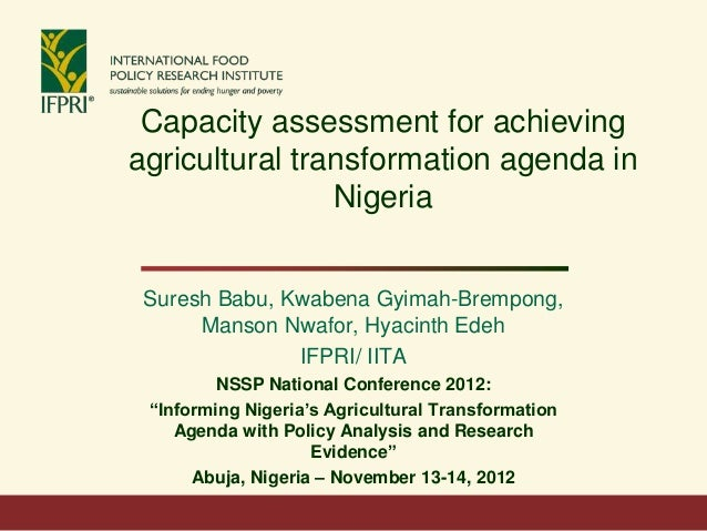 Day 2, Session 3: Building Capacity for Agricultural Policy Implementation