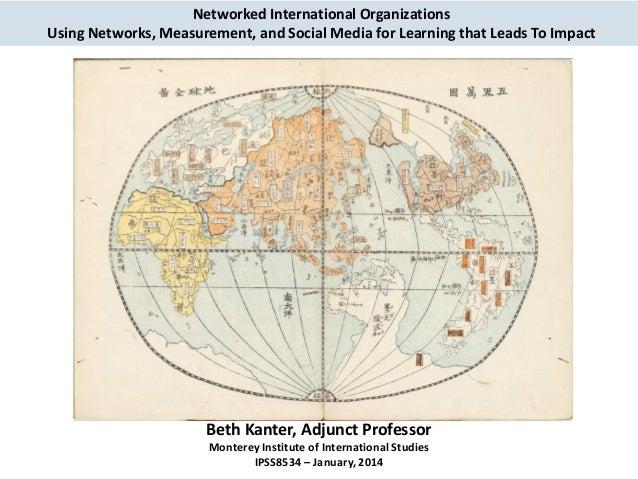 Social Media and International Organizations