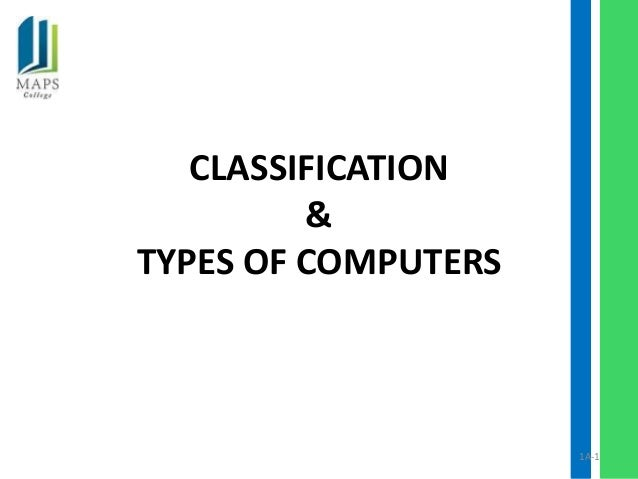 Day 2 types of computers