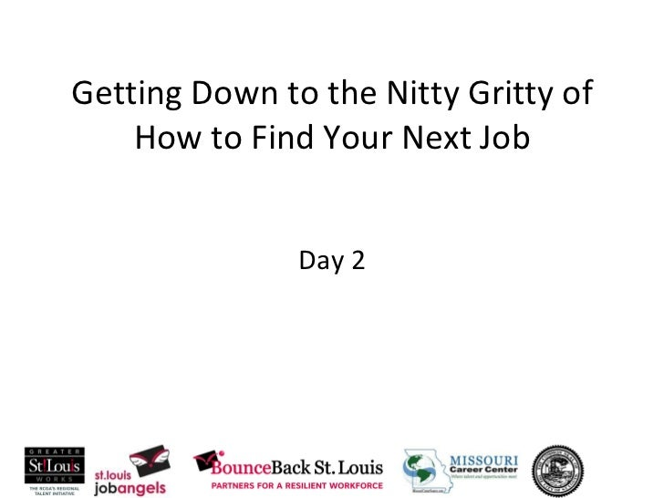 Nitty Gritty Day2 workshop March 2011