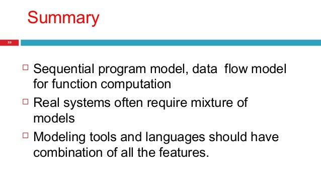 summary of sequential systems