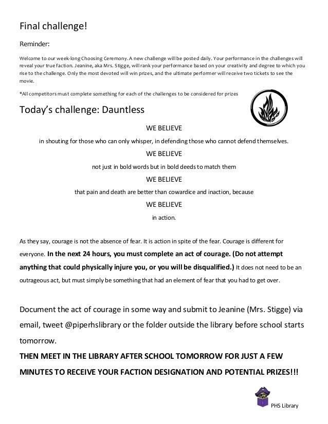 Day 4 Dauntless