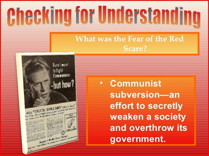understanding the red scare Nonetheless, we are now back in a similar frame to the nuclear war scare of the 1980s, which only ended with the reagan and gorbachev summitry that led to the conclusion of the 1987 inf treaty.
