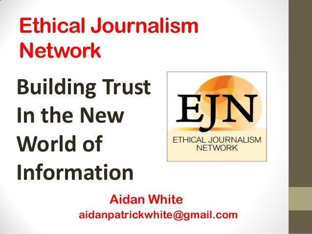 Building Trust In the New World of Information