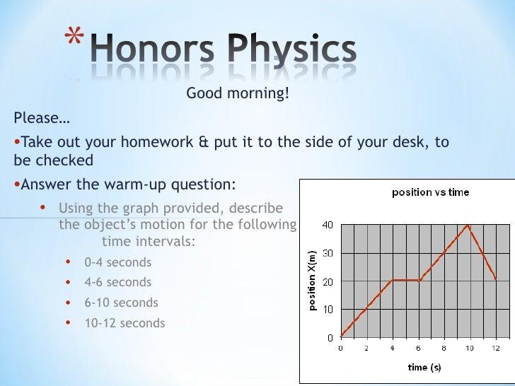 <ul><li>Good morning! </li></ul><ul><li>Please… </li></ul><ul><li>Take out your homework & put it to the side of your desk...