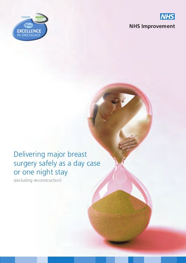 Delivering major breast surgery safely as a day case or one night stay (excluding reconstruction)