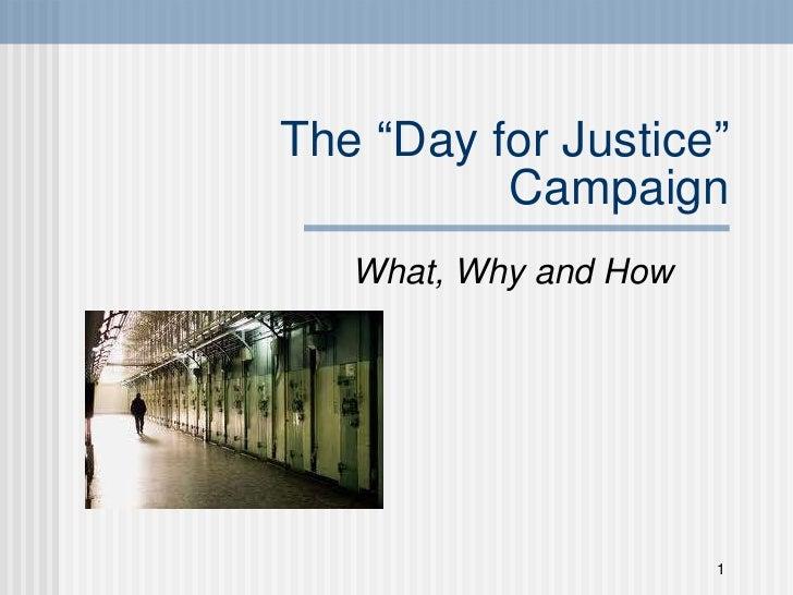 Day for justice webinar final_october 2011