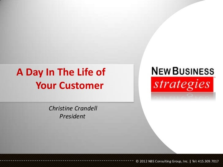 Christine Crandell    President                     © 2012 NBS Consulting Group, Inc.   Tel: 415.309.7017                 ...