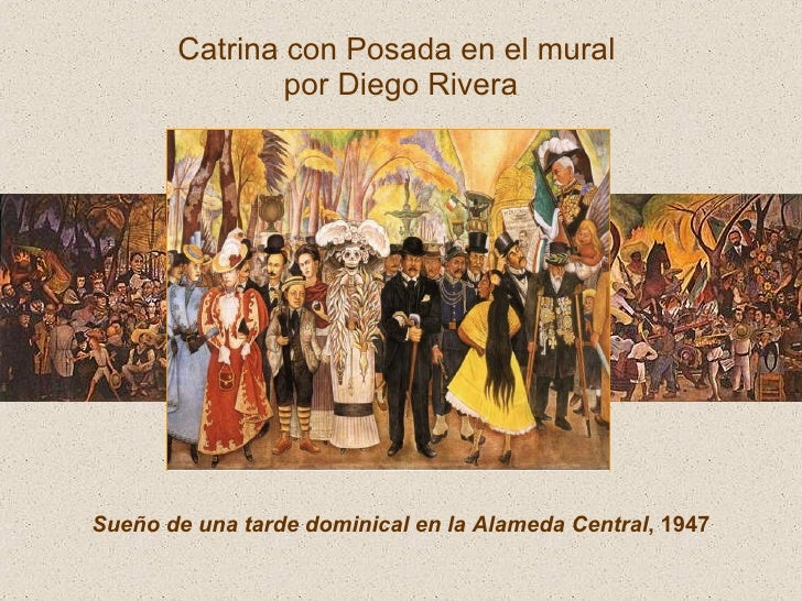 Day of the dead for Diego rivera day of the dead mural