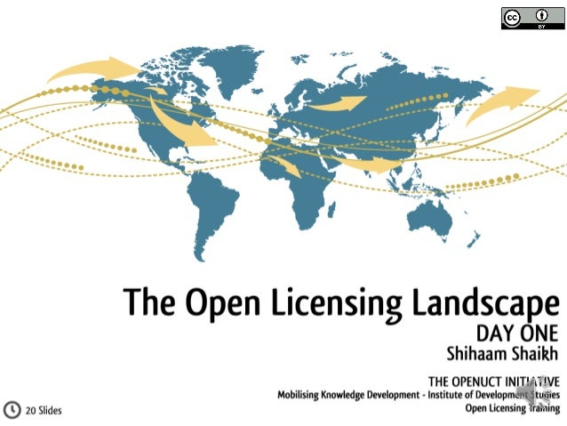 Understanding Open Licensing: Day One - The Open Landscape