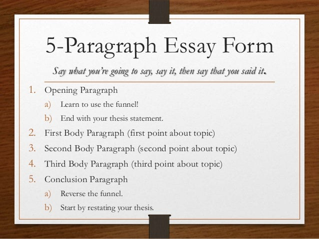 Test Paragraphs Essays And Research Reports