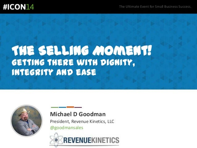 Michael Goodman - Secrets for Converting Sales