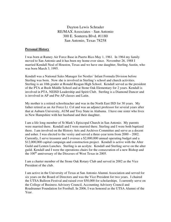Dayton Lewis Schrader                        RE/MAX Associates - San Antonio                           300 E. Sonterra Blv...