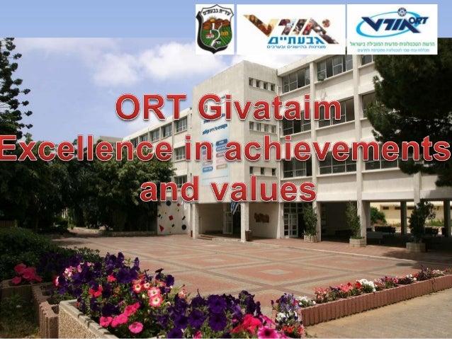 School visit - Ort Givataim
