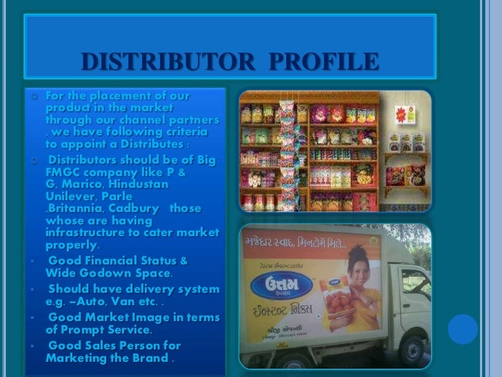 Distributorship business plan