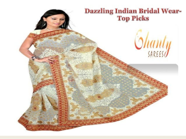 Dazzling indian bridal wear  top picks
