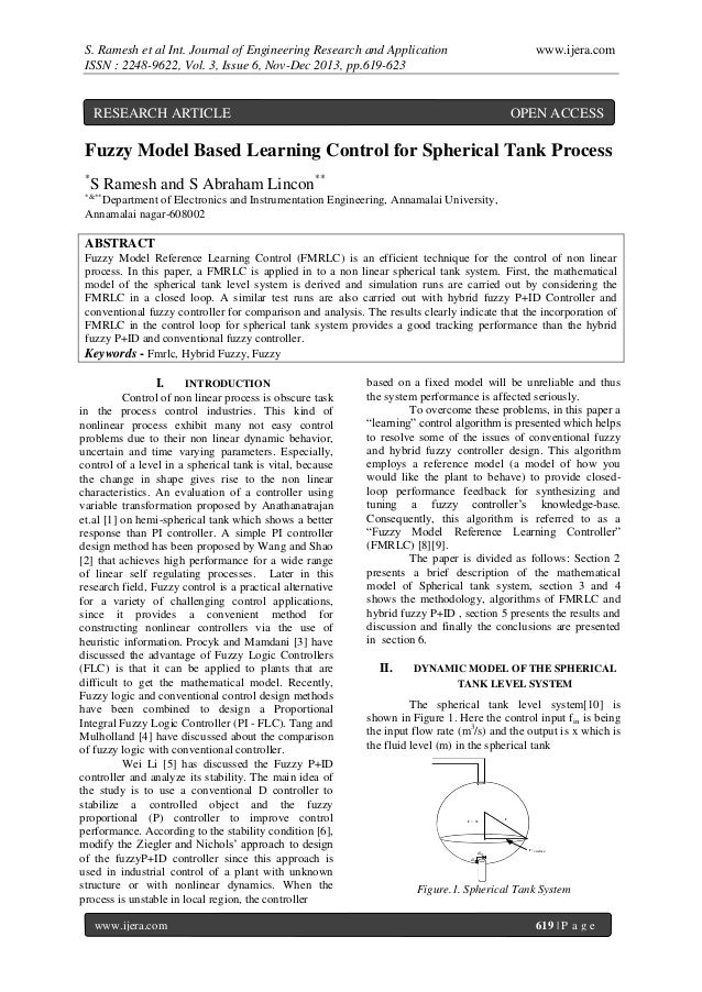 S. Ramesh et al Int. Journal of Engineering Research and Application ISSN : 2248-9622, Vol. 3, Issue 6, Nov-Dec 2013, pp.6...