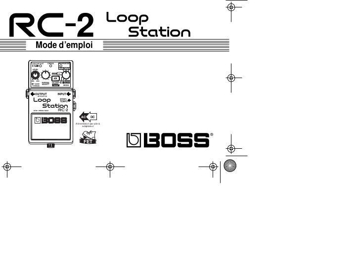 Mode d'emploi                  AC       DC           Alimentation par pile                adaptateur                     F...