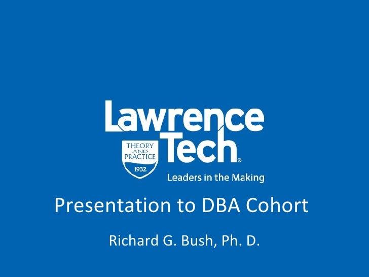 DBA Presentation