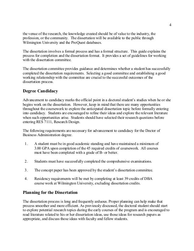 Doctoral dissertation agreement form