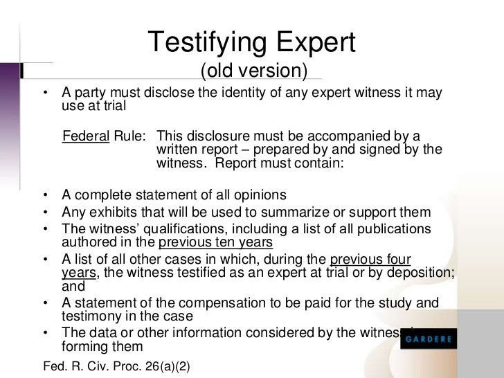 witness report info Thomson reuters expert witness services (trews) compiles the information in the report from a variety of sources (sources) although trews uses commercially reasonable efforts to accurately summarize and.