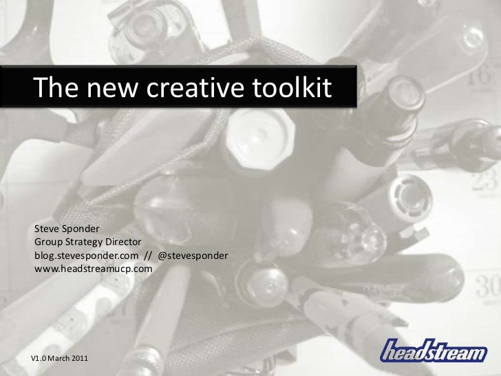 The New Creative Toolkit