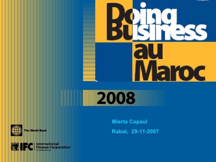 Mierta Capaul Rabat,  29-11-2007