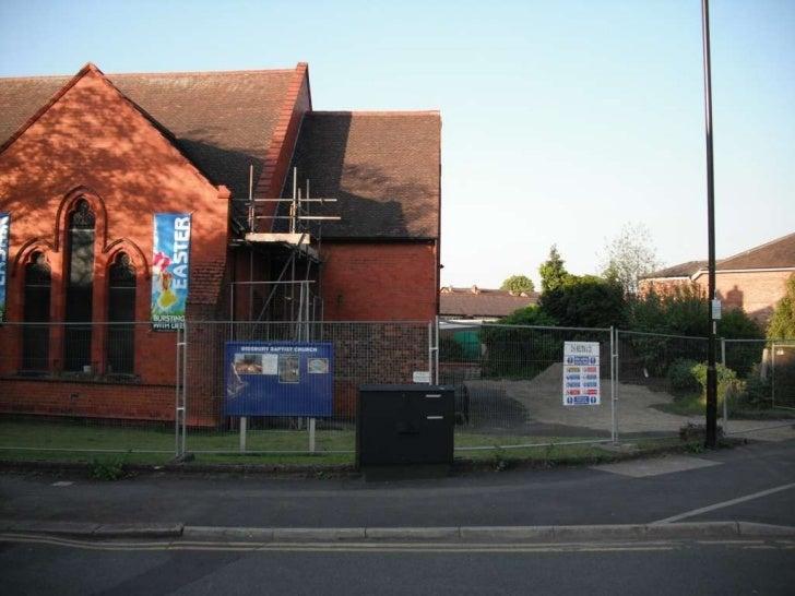 Didsbury Baptist Church Building Project 01