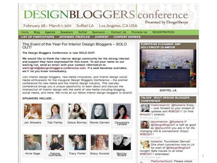 Facts On Design Blogger Conference Attendees