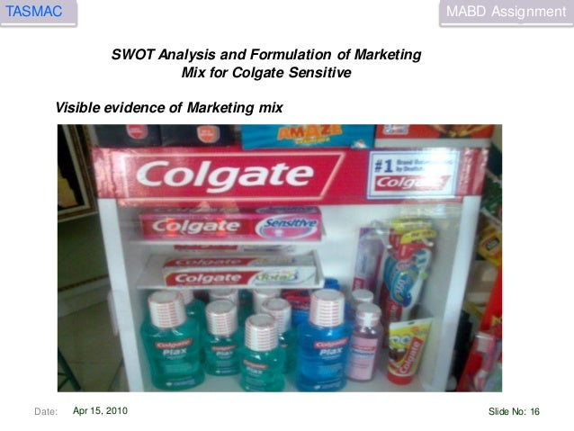 promotion mix colgate Research on the marketing plan of colgate i am going to do a research on the marketing plan of management objective marketing strategy marketing mix.
