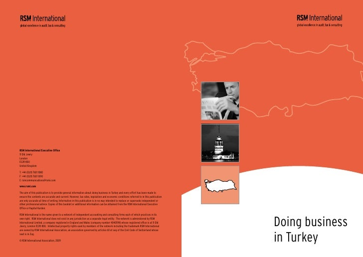 Doing Business in Turkey   Alan Greenhalgh