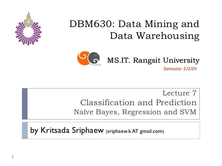 Dbm630 lecture07
