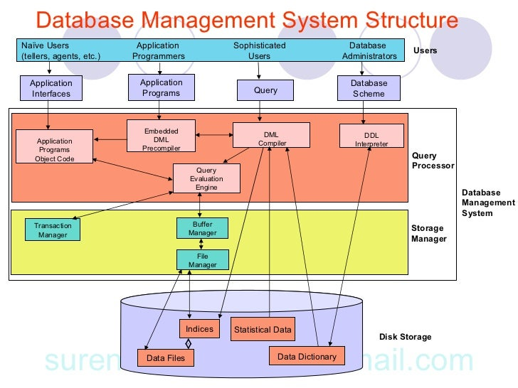 a study of database management system