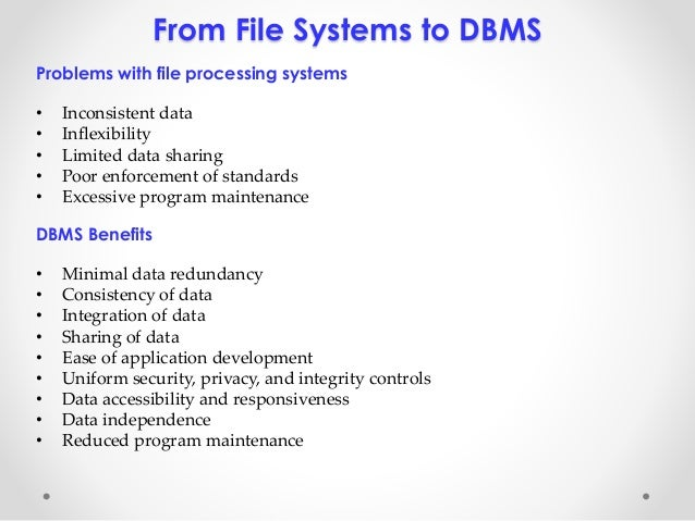 database vs file system essay Ntfs filesystem fragmentation & other influence vs database files mssql uses files as database storage method sql server is installed on any system just.
