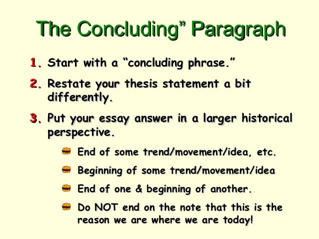 Good ideas for a compare and contrast essay