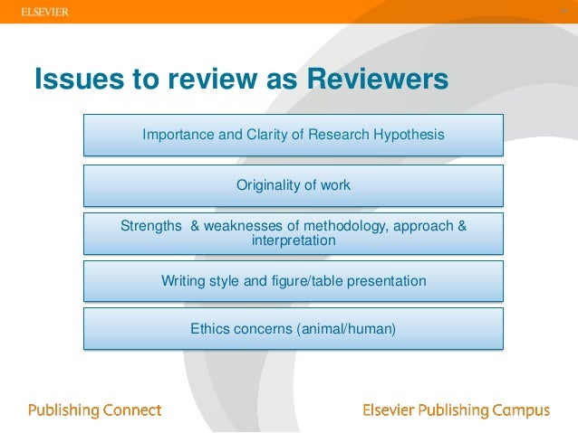 Elsevier review