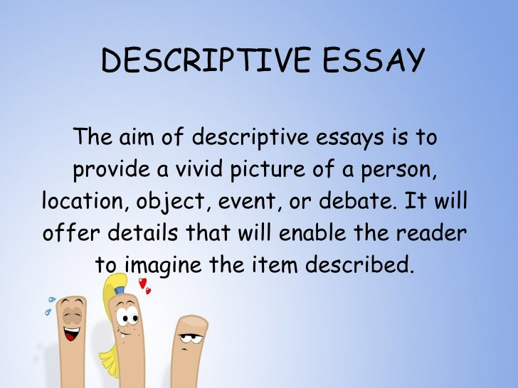 this essay aims at describing the