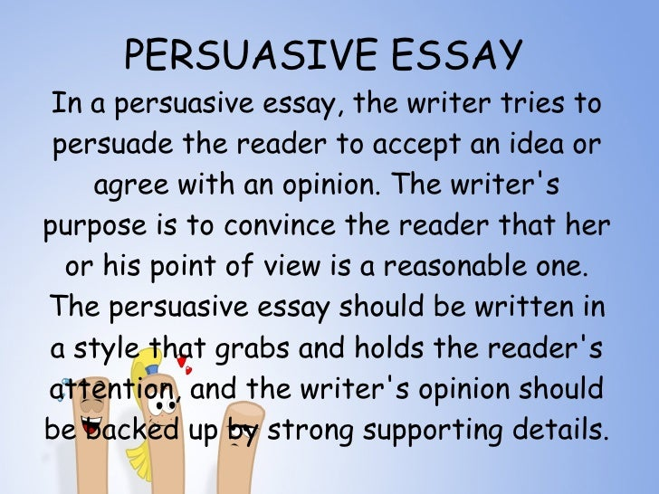 laying the foundation writing the persuasive essay