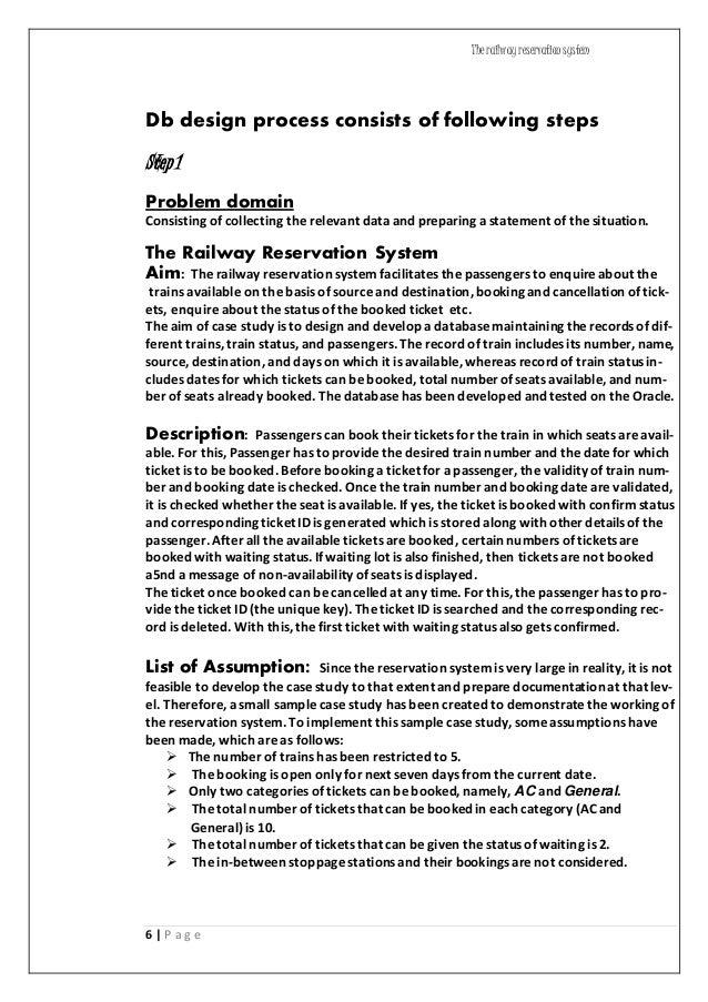 Case Study-The Reservation Nightmare.docx - coursehero.com
