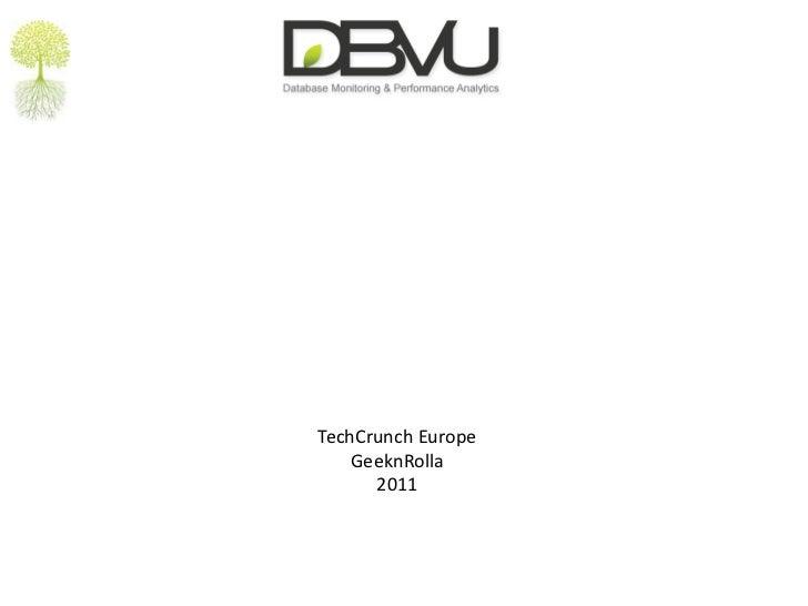 GeeknRolla DBVu presentation v2
