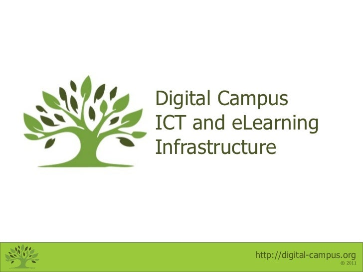 Digital Campus ICT and eLearning Infrastructure