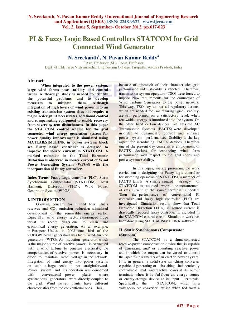 N. Sreekanth, N. Pavan Kumar Reddy / International Journal of Engineering Research            and Applications (IJERA) ISS...