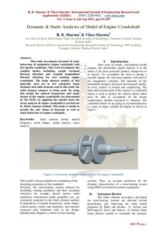R. B. Sharma & Vikas Sharma / International Journal of Engineering Research and Applications (IJERA) ISSN: 2248-9622 www.i...